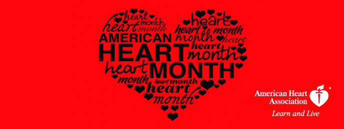 American Heart Month Red